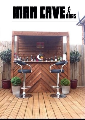 6c757582650 Outdoor bar garden pub home bar 6x3 1