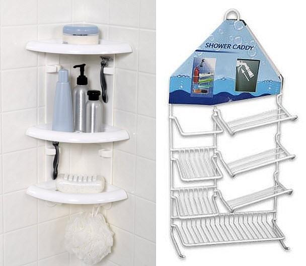 Plastic Shower Corner Shelf