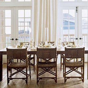 Wicker Rattan Dining Chairs - Foter