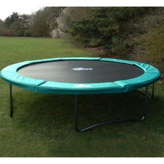 Rectangle trampoline without enclosure