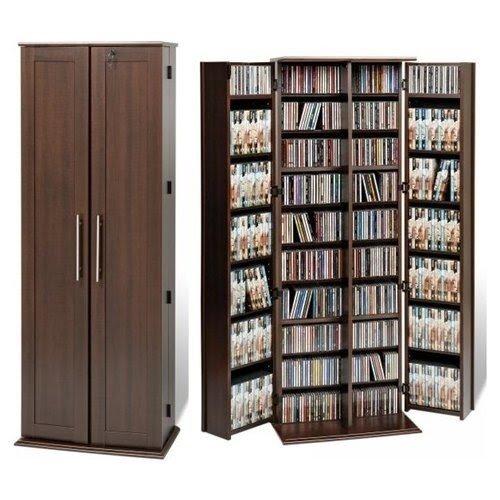 Antique dvd storage  sc 1 st  Foter & Dvd Storage Cabinet With Doors - Foter