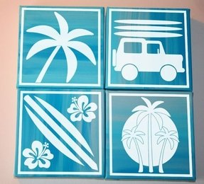 Beach Theme Wall Decals Foter
