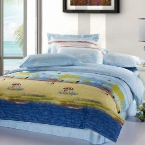 Beach themed bedding sets 26