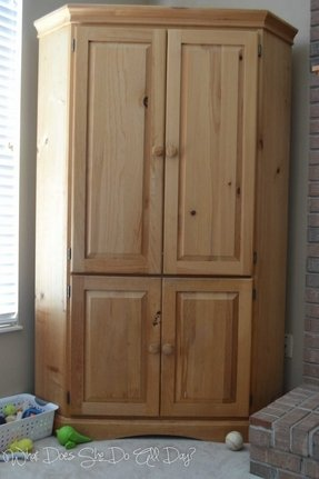 Corner Tv Armoire With Doors - Foter