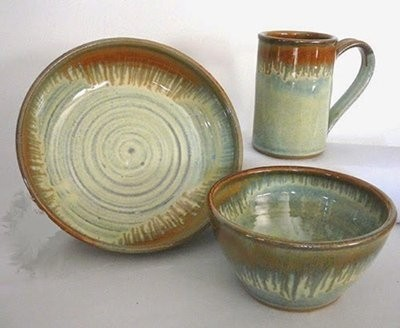 Country stoneware dinnerware sets : stoneware tableware - pezcame.com