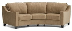 Curved leather couches 28