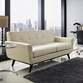 Curved Leather Couches - Ideas on Foter