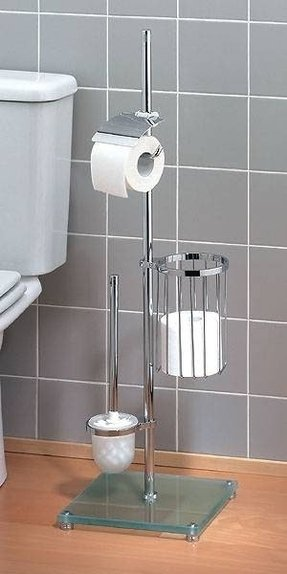 modern toilet paper wall shelf rack