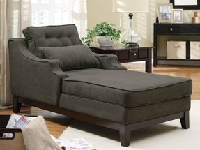 Gray chaise lounge 4