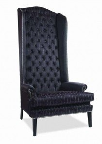 Delicieux High Back Wing Chair Mouth