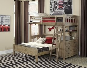 Highlands L Shaped Bunk Bed