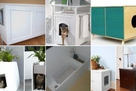 Kitty Litter Box Furniture