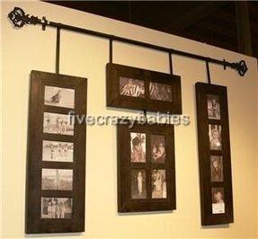 hanging photo collage frames foter. Black Bedroom Furniture Sets. Home Design Ideas