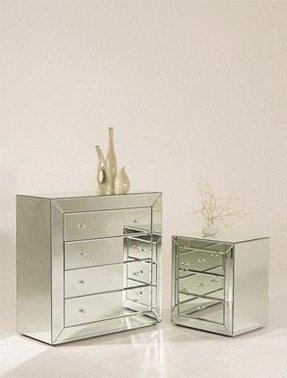 Mirror chest of drawers 1