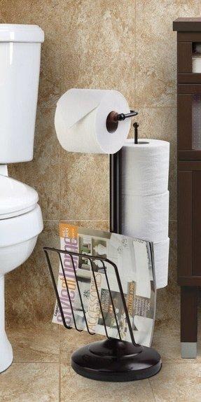 Modern Free Standing Toilet Paper Holder Ideas On Foter