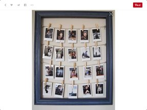 Hanging Collage Picture Frames Ideas