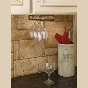 Wall Mount Stemware Rack Foter