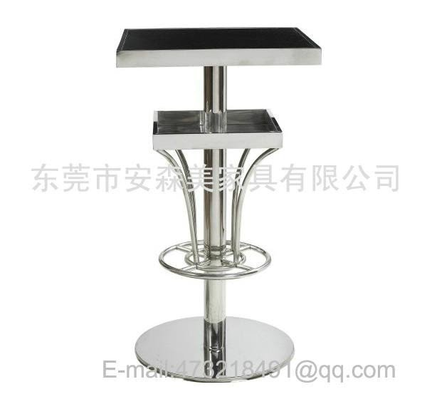 Stainless steel pub table  sc 1 st  Foter & Stainless Steel Pub Table - Foter