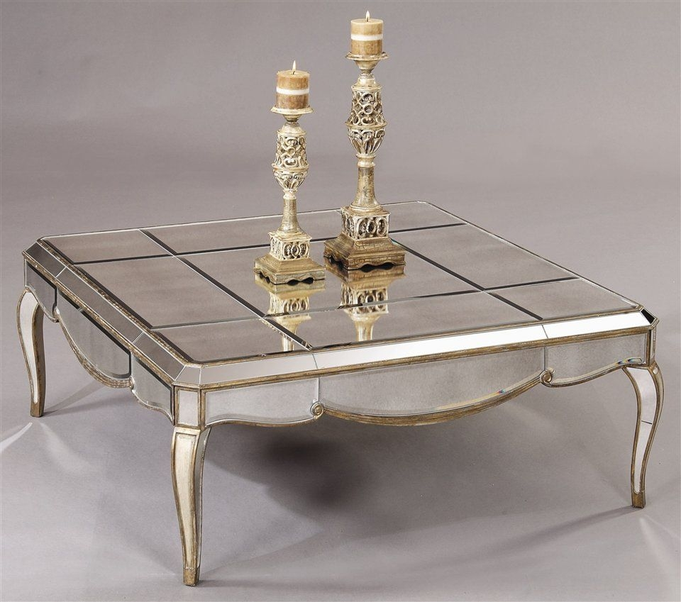 All Mirror Coffee Table.Antiqued Mirrored Coffee Table Ideas On Foter