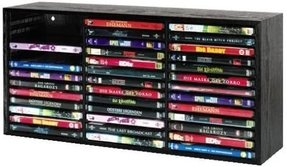 Wall dvd storage
