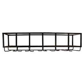 Wall mount stemware rack 20