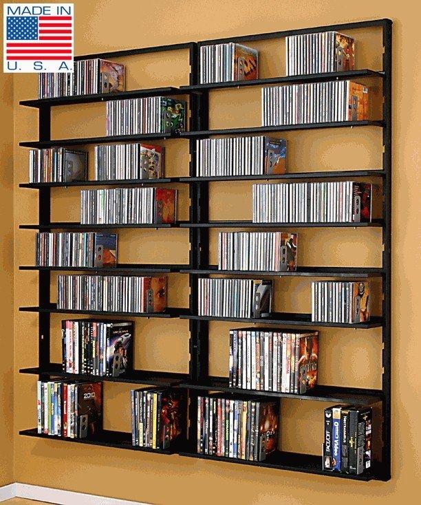 Wall mounted cd dvd storage & Wall Mount Dvd Storage - Foter