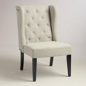Awe Inspiring Wingback Dining Chairs Ideas On Foter Caraccident5 Cool Chair Designs And Ideas Caraccident5Info