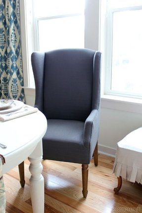 Magnificent Wingback Dining Chairs Ideas On Foter Caraccident5 Cool Chair Designs And Ideas Caraccident5Info