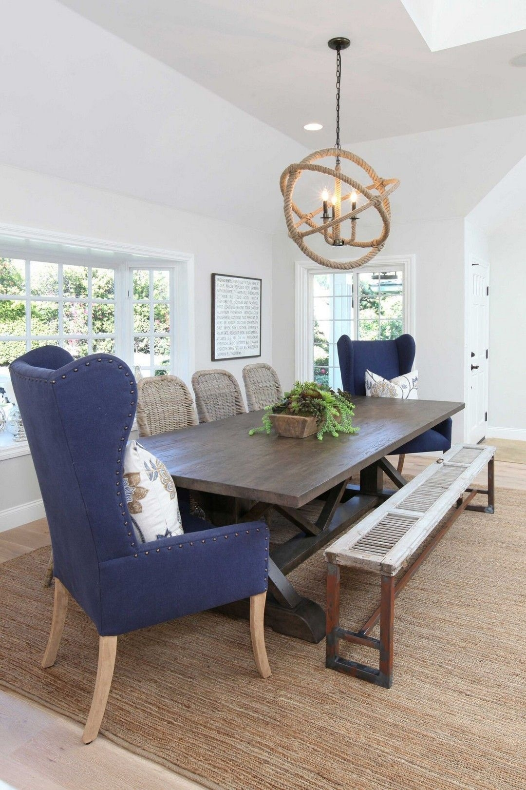 Wingback Dining Chairs 3