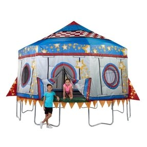 10ft trampoline with tent