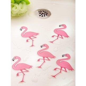 12 Bathtub Decals Non Slip Flower White Stickers Tread Suction Safety Tub Shower