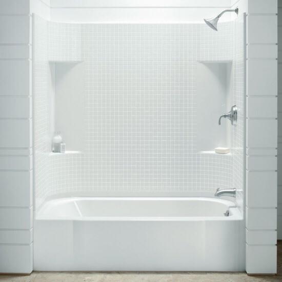 One Piece Bathtub Shower - Foter
