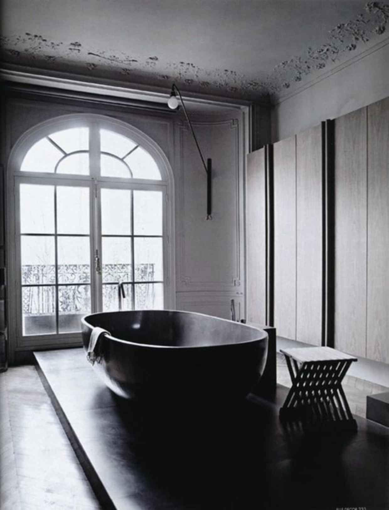 Merveilleux Black Bathtub 15