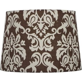 Damask lamp shade 11