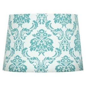 Damask lamp shade foter damask lamp shade 14 aloadofball Choice Image