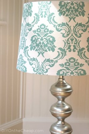 Damask Lamp Shade Foter