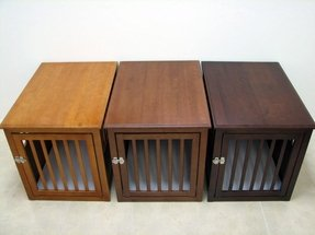 Dog kennels that look like furniture 1