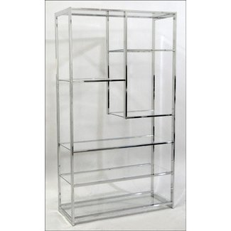Etagere glass shelves