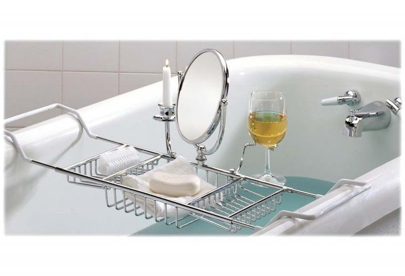 Expandable Bathtub Caddy 1