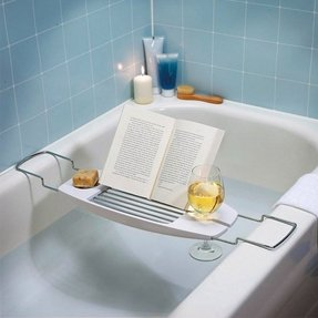 Expandable Bathtub Caddy - Foter