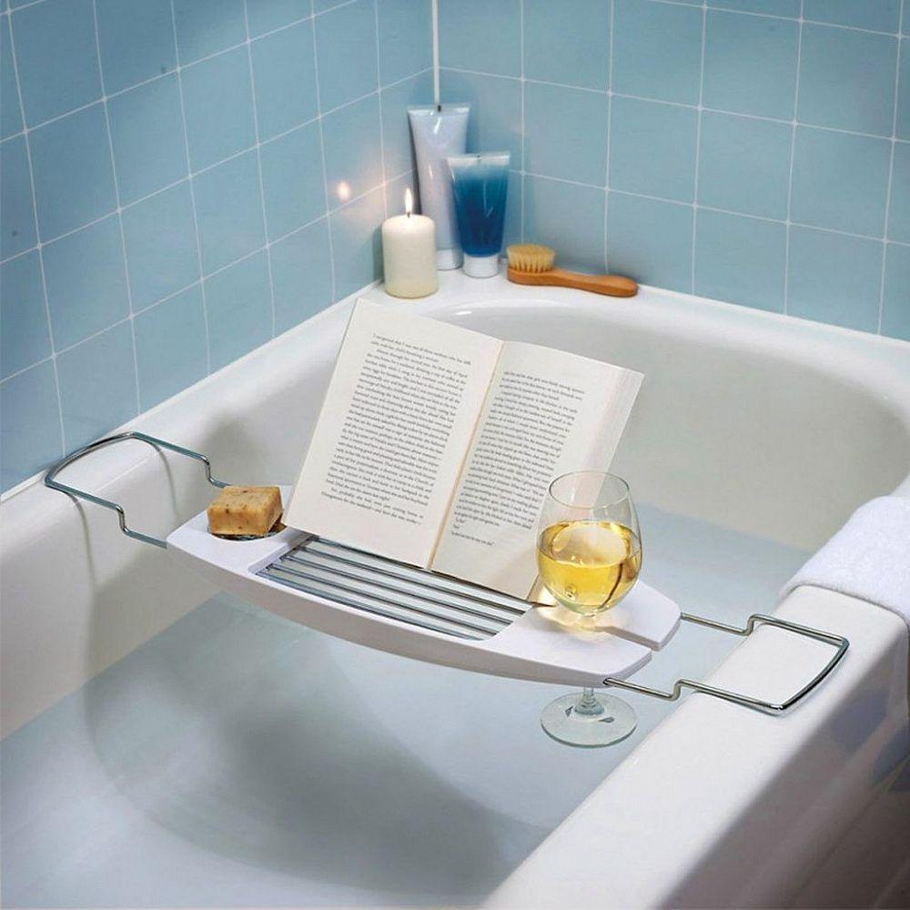 Expandable Bathtub Caddy 6