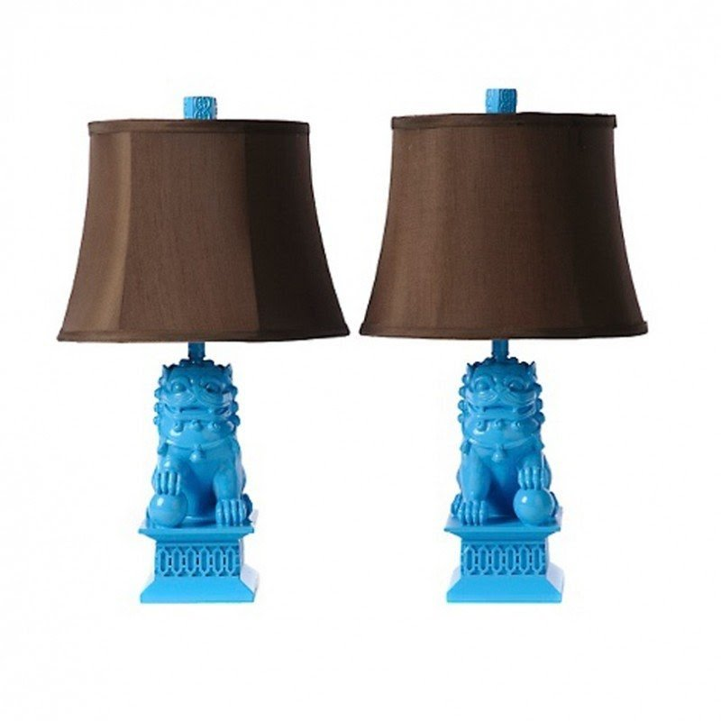 Foo Dog Lamp 15