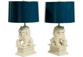 Foo dog lamp 2
