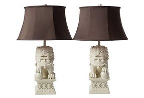 Foo dog lamp 31