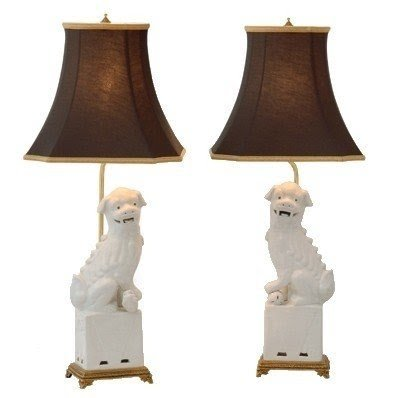 Foo Dog Lamp And Pair At Charlotte Ivy Only 200