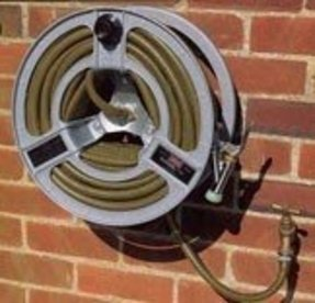 Wall Mount Garden Hose Reel Metal Foter