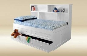 Good trading bookcase bed w drawers and trundle like this