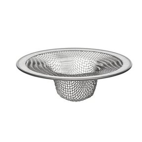 Hair strainer for bathtub drain