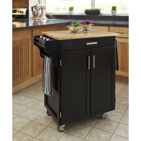 Black Kitchen Cart | Small Kitchen Cart With Drawers Ideas On Foter