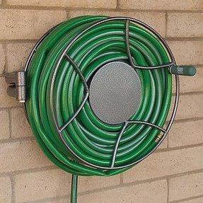Home wall mount hose swivel reel anti rust steel